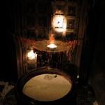 心の休憩室ガルーバ - 店内は幻想的な空間