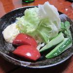 烏山 - 絶対に食べて見たかった野菜サラダ★