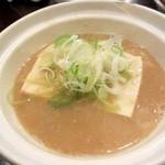 26566753 - もつ煮込み鍋(豆腐だけ)¥370