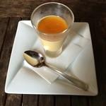 本格塩ゆでスパゲティ 隠れスパ一世 - パスタランチ デザートのとろけるプリン