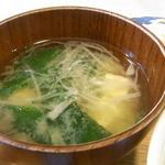 ロッキーハウス - お味噌汁☆♪