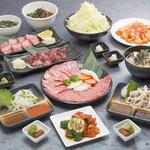 ホルモン焼道場 蔵 - 料理写真:師範代コース