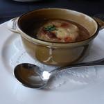 タワーレストラン ヨコハマ - オニオンスープ