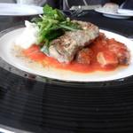 タワーレストラン ヨコハマ - 鱸?トマトソース