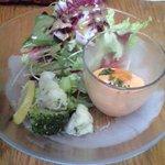 2657181 - 前菜2種とサラダ盛り合わせ