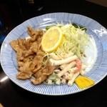せきざわ食堂 - 焼肉(しょうが焼)定食¥490