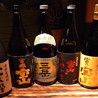 地酒・本格焼酎【500~800円】