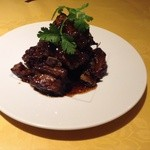 上海厨房 味楽 - 黒酢すぶた
