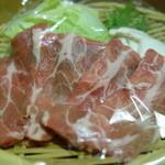 かどや - 豚しゃぶのお肉は肩ロース