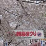 走井餅老舗 - 八幡桜まつり開催中