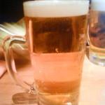 26576705 - 男前ガブ飲みビール。