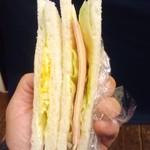 らくごカフェ - サンドウィッチ