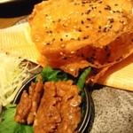 坐・和民 - 揚げ納豆味噌