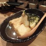 やきとり六角道 - 揚げ出し豆腐