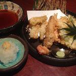 月の宴 - 筍の天ぷら