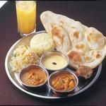 インド料理 ダルバール - ダルバールスペシャルランチセットB