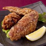 宮崎料理 万作 - ぶり鶏手羽の竜田揚げ