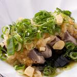 宮崎料理 万作 - 鰹のたたき