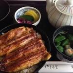 うなぎ川魚料理 伊勢屋 - うな丼
