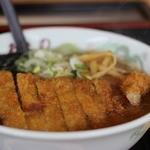 あさの - カツラーメン醤油