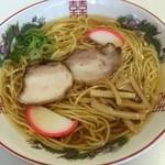 朝日屋 - 料理写真:中華そば470円
