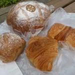 杜のパン屋 - 合計730円【2014/04訪問】
