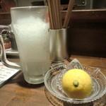 26585555 - レモンサワー