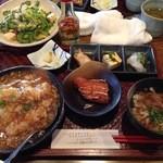 soul of okinawa 海の彼方 - あんかけご飯のランチ