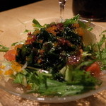 トスカーナの食卓 - トスカーナの食卓の海藻サラダ(13.10)