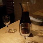 トスカーナの食卓 - トスカーナの食卓の量り売りワイン(13.10)