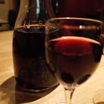 トスカーナの食卓 - トスカーナの食卓の量り売りワイン1Lで2000円(14.02)