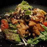 トスカーナの食卓 - トスカーナの食卓のチキンフリットジャポネ風680円(14.02)