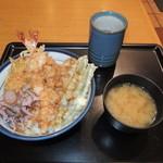 天丼てんや - 天丼500円(クーポン利用で450円)