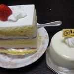 2659229 - ショートケーキ レアチーズケーキ