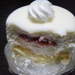2659231 - レアチーズケーキを切ったところ