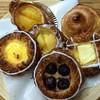 コットン フィールド - 料理写真:自家製カスターを使用した サックリデニッシュ
