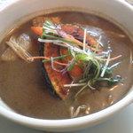 GOMBEI SPICE - 茄子抜きにするとスープが寂しいです…。