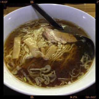 三吉 - らー麺+餃子のらーめん