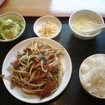 2660518 - レバニラ炒め定食 500円