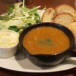 ブーランジェリー・アー - ランチ 日替わりスープセット