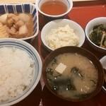 かっぽうぎ - 四品定食¥810