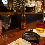 26600708 - ワイングラスで初めて飲む泡盛♡