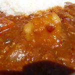 ヒビキ カフェ - トマト&チキンカレー(¥800)