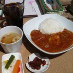 ヒビキ カフェ - カレーランチ(¥800)