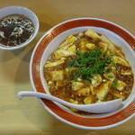 Taishinchuukaryouriten - 麻婆丼、スープ