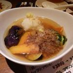 Yokosuka Bar スカバル  - 野菜の揚げ出し