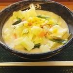 はなまるうどん - 料理写真:「野菜ちゃんぽんうどん(中)」580円