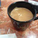 サントノーレ - イートインスペースでいただくと、コーヒーの無料サービスがいただけます(*^^*)