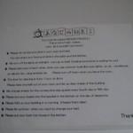 あくびカフェー - 利用規約:外国語版