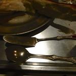 あくびカフェー - バターナイフ他